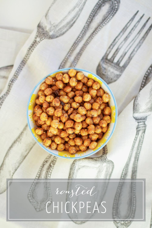 Everything Seasoned Roasted Chickpeas - Healthy Snacks on the Bubbles in Bucktown Blog (bubblesinbucktown.com)