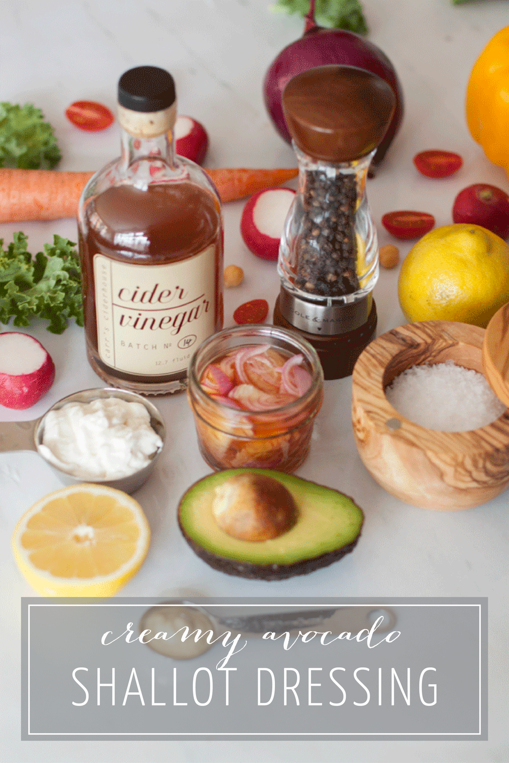 Recipe for Creamy Avocado Shallot Dressing - Bubbles in Bucktown (bubblesinbucktown.com)