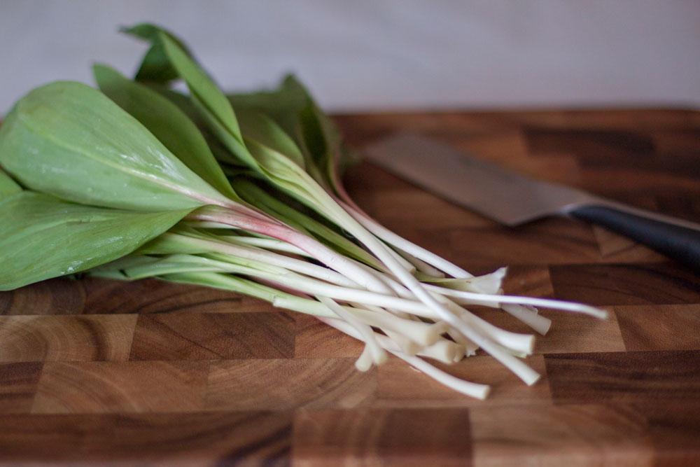 Recipe: Ramp Pesto on Bubbles in Bucktown (bubblesinbucktown.com). Amp up traditional pesto with spring seasonal ramps!