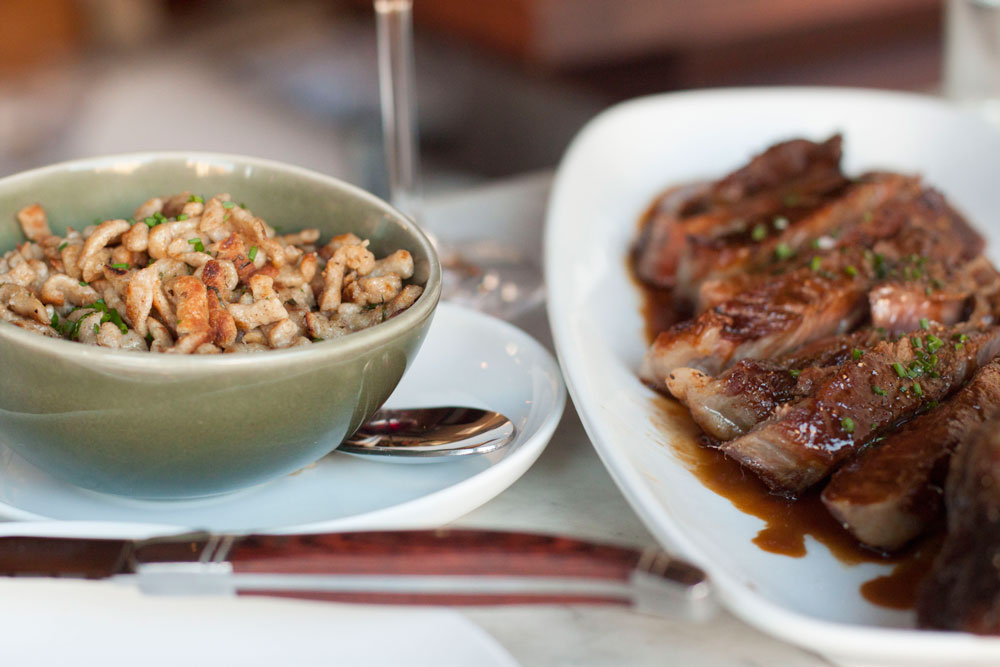Restaurant Review on Bubbles in Bucktown: Boeufhaus - an incredible French/German bistro in Chicago's Ukrainian Village