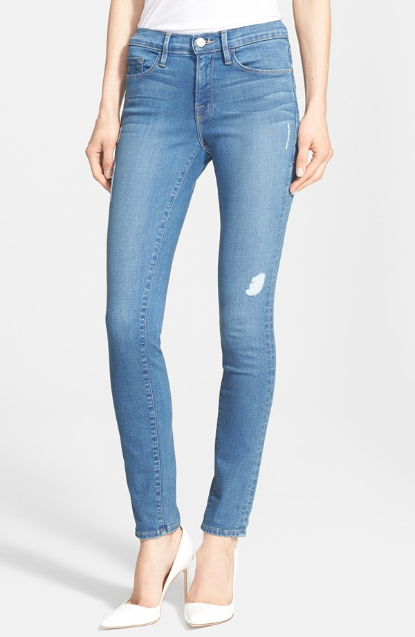 Frame 'Le Skinny de Jeanne' Jeans in Alverstone