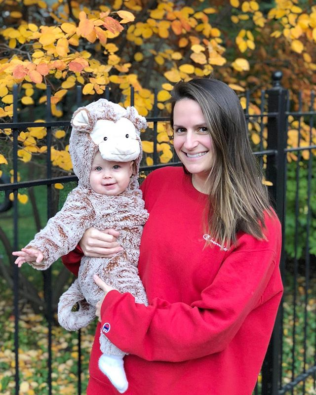 Happy First Halloween to this little monkey! 🐒