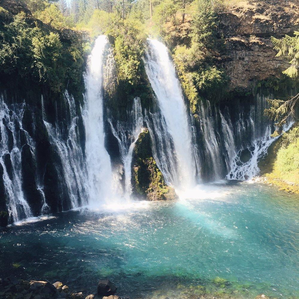 The famous Burney Falls.