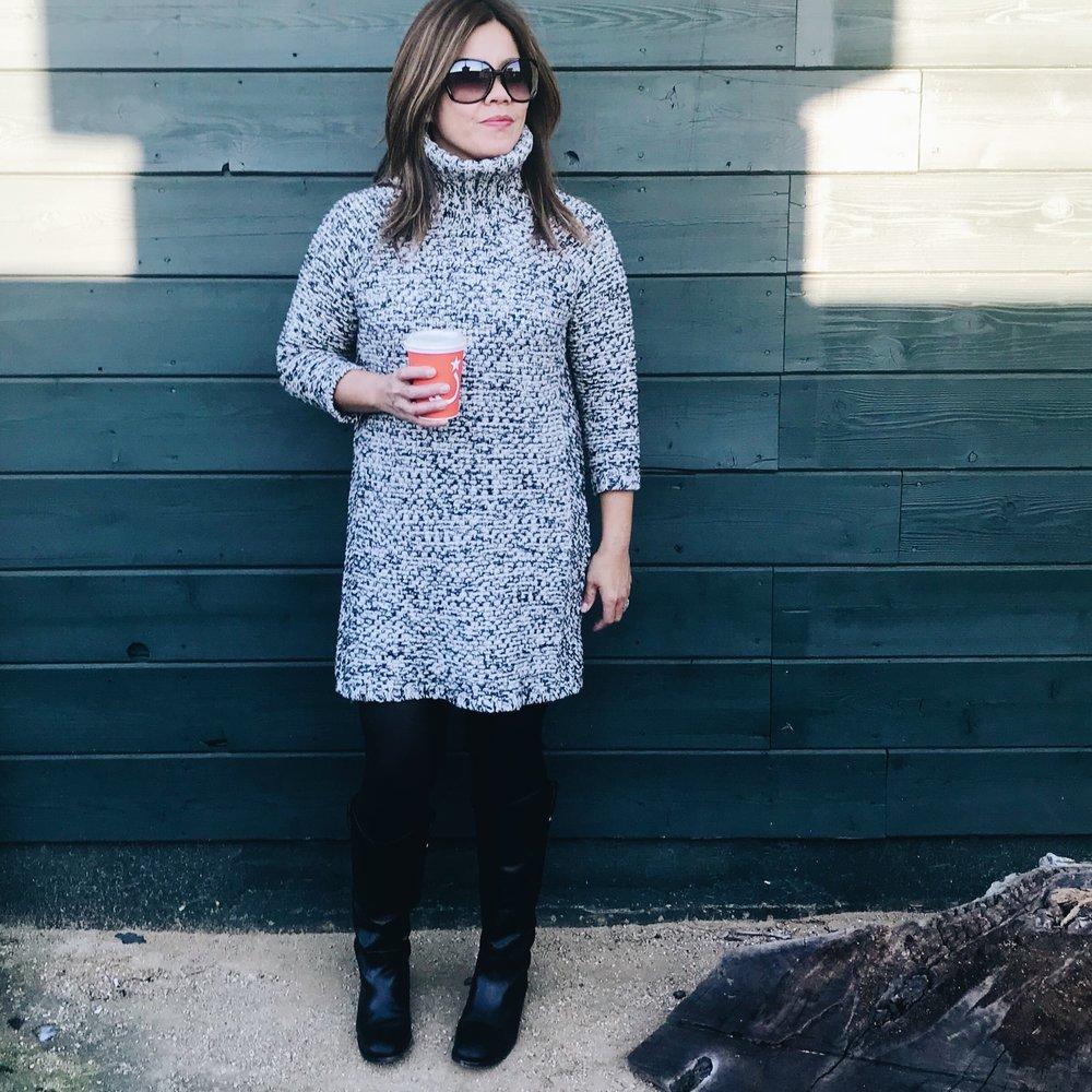Momlikethat - Banana Republic Chunky Sweater Dress.JPG