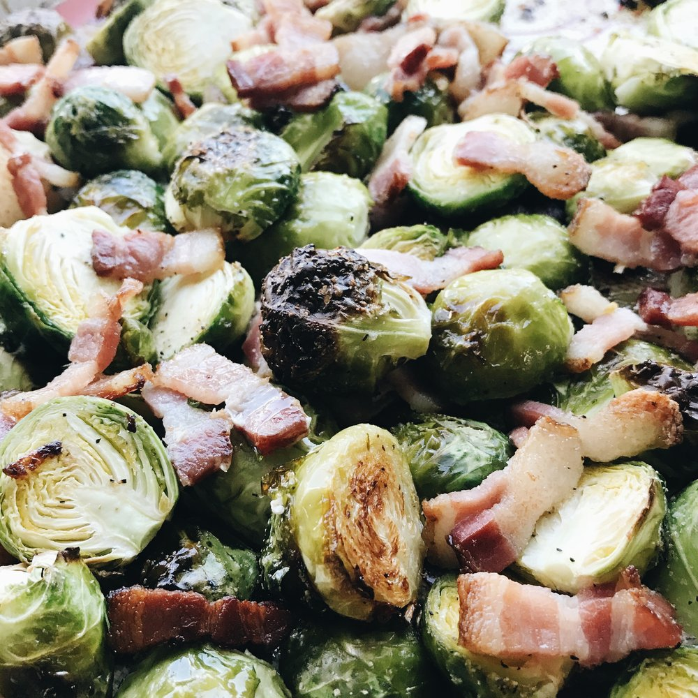 Momlikethat - Brussels Sprouts with Bacon.JPG