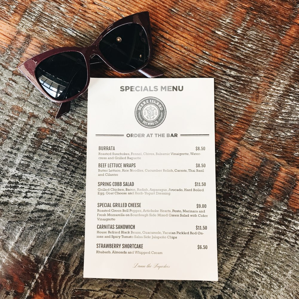 momlikethat - up bay finds mare island brewing co menu.JPG