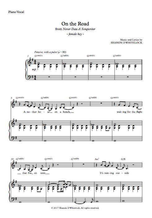 Sheet Music — Home Grown