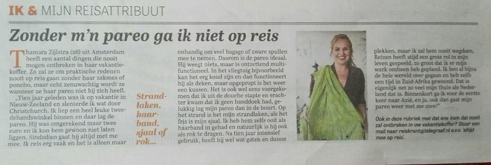 De Telegraaf - Thamara Zijlstra