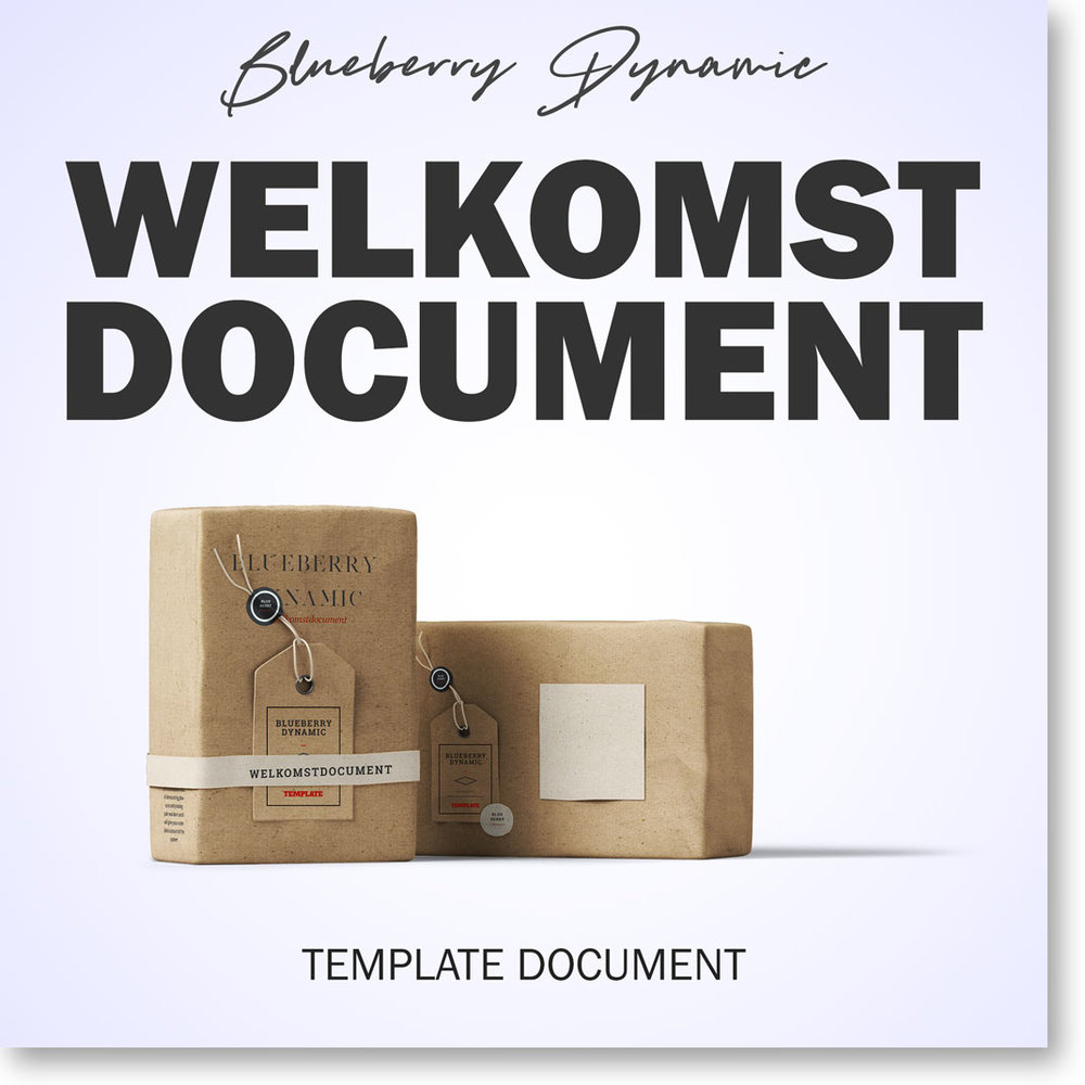 Welkomstdocument