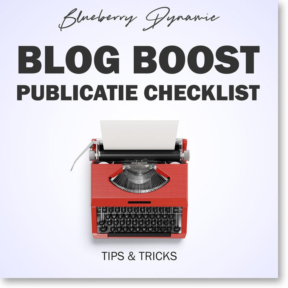 Blog boost