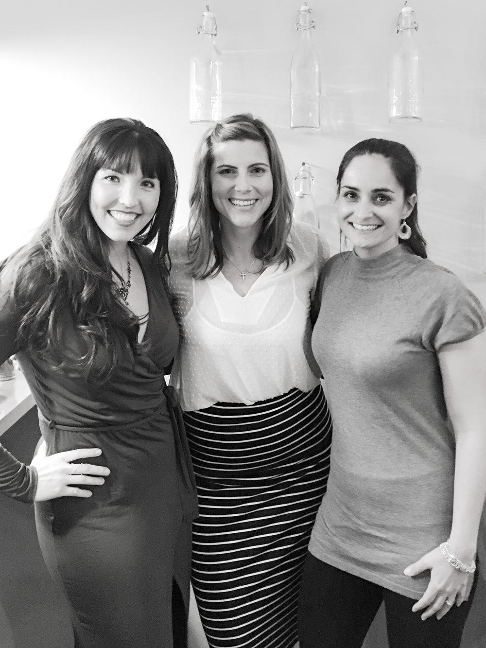 Ashleigh Robinson, Raquel Shutt, &Christina Hamilton
