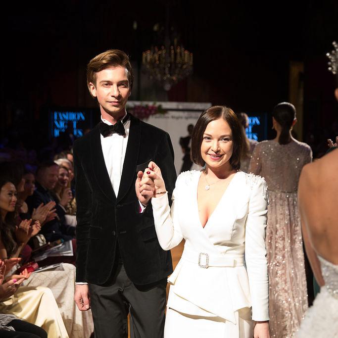 Poner siblings. Nikol (Right) and Jakub (Left). Czech fashion designers.