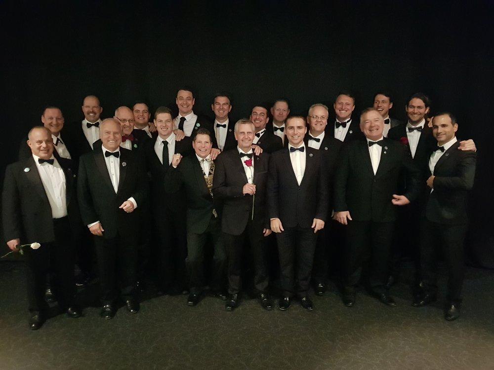 PRESIDENTIAL GENTLEMEN at the May 2018 Super Regional's