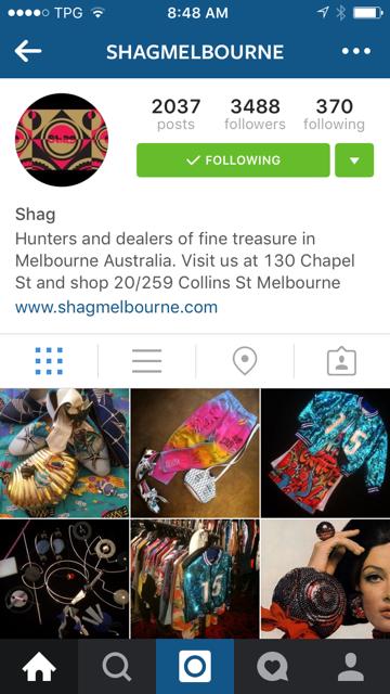 Shagmelbourne Instagram