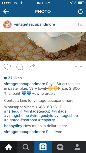 Vintageteacupand more Instagram example