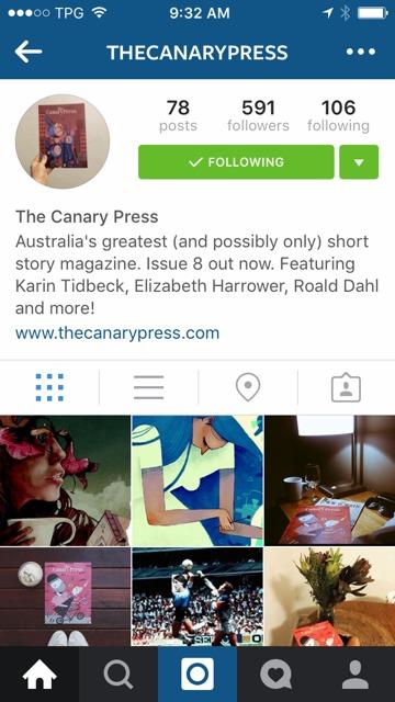 Canary Press on Insta