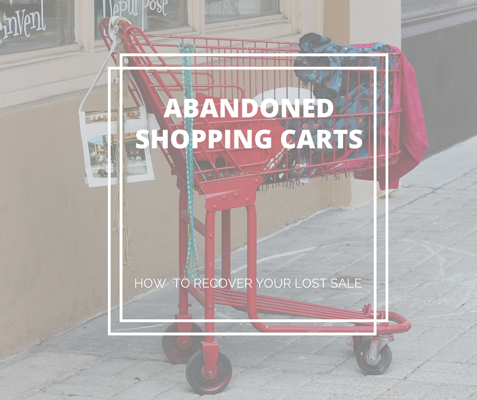 How to recover your abandoned shopping cart