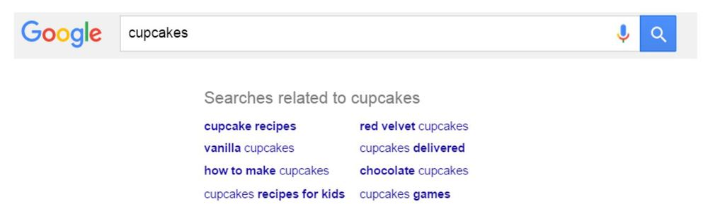 Google suggests