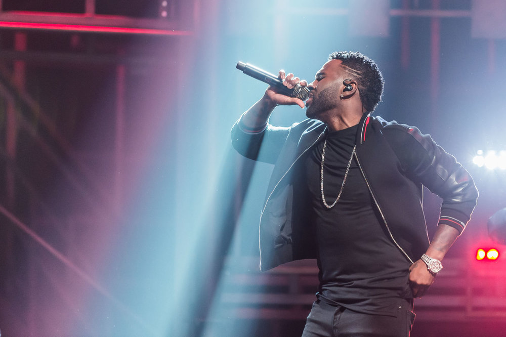 Jason Derulo co-hosts the first program
