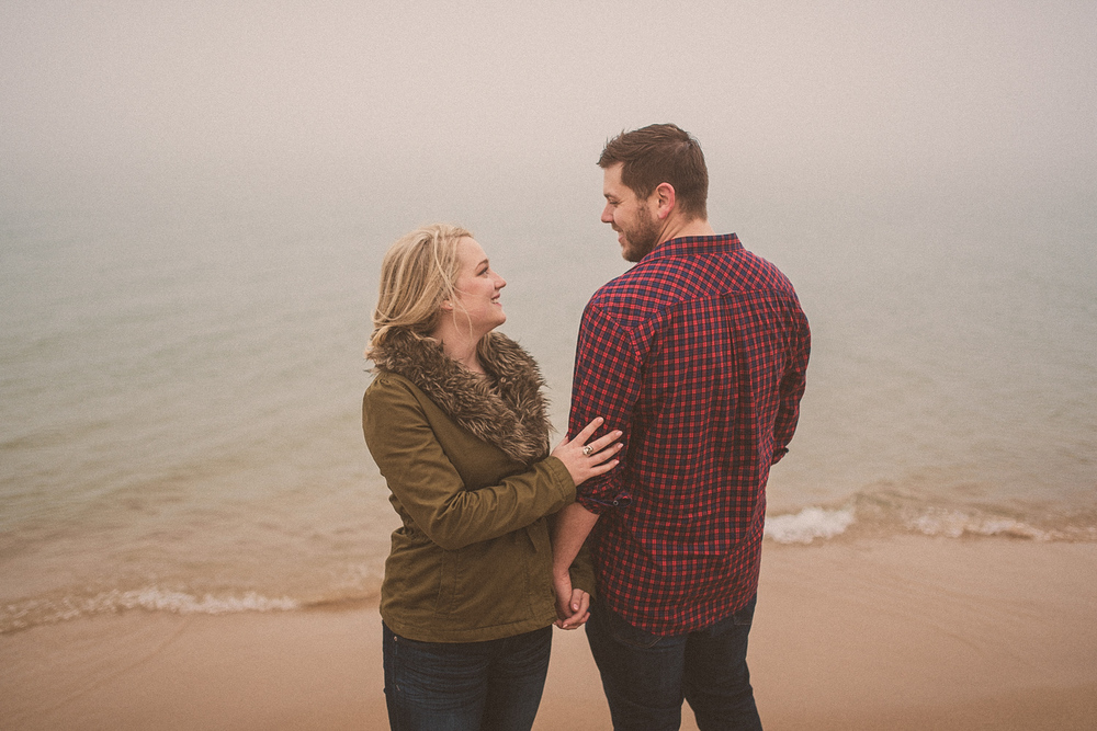 Lake Michigan Engagement - Holland Michigan Wedding Photographer - 086.jpg