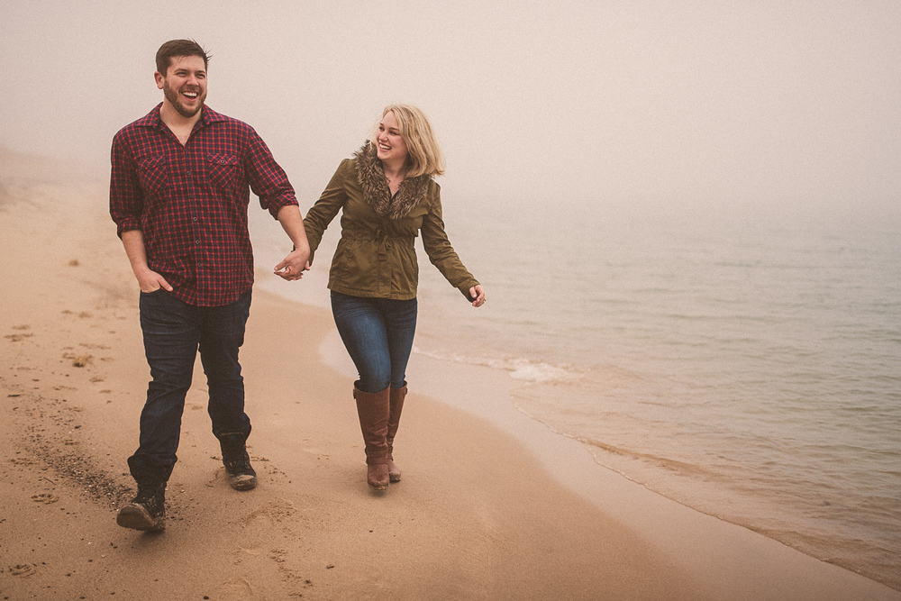 Lake Michigan Engagement - Holland Michigan Wedding Photographer - 098.jpg