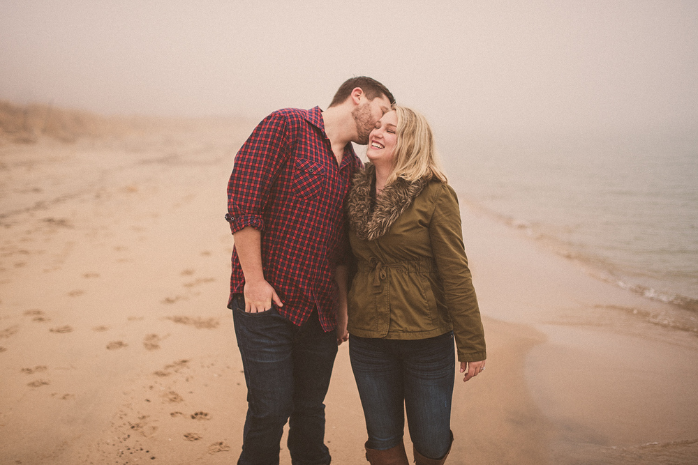 Lake Michigan Engagement - Holland Michigan Wedding Photographer - 100.jpg