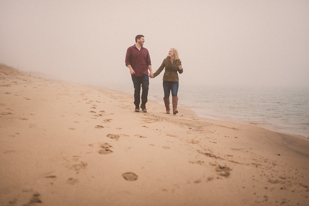 Lake Michigan Engagement - Holland Michigan Wedding Photographer - 101.jpg