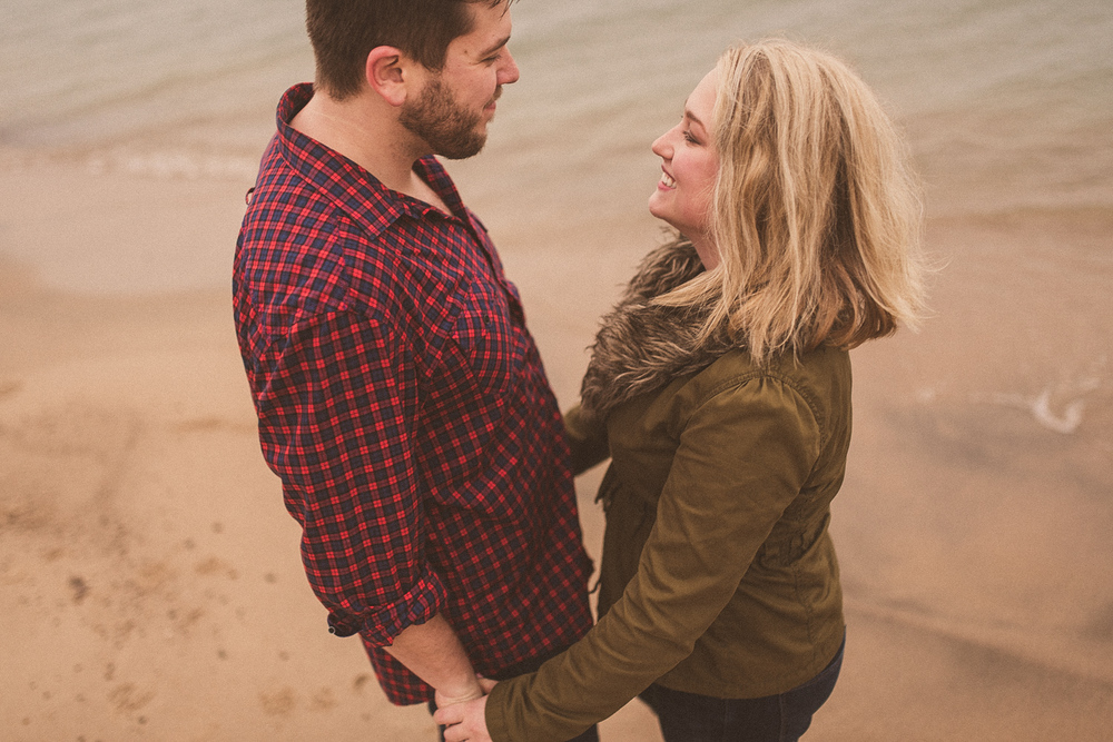 Lake Michigan Engagement - Holland Michigan Wedding Photographer - 103.jpg