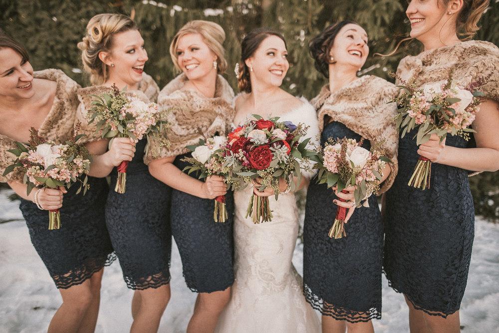Michigan Wedding Photographer - Grand Rapids Winter Wedding - 031.jpg