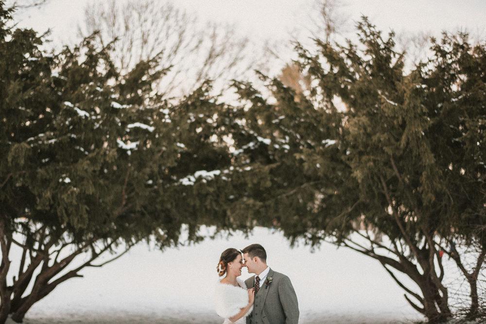 Michigan Wedding Photographer - Grand Rapids Winter Wedding - 079.jpg