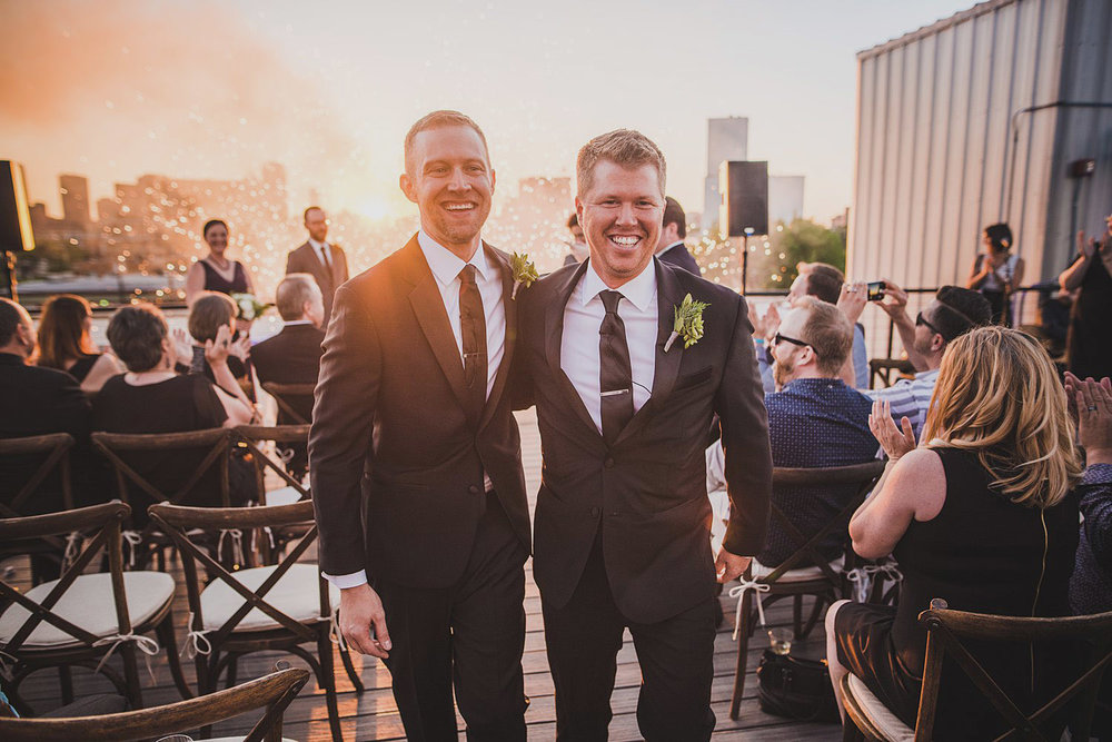 JUSTIN + PATRICK | DOWNTOWN DALLAS, TEXAS WEDDING -