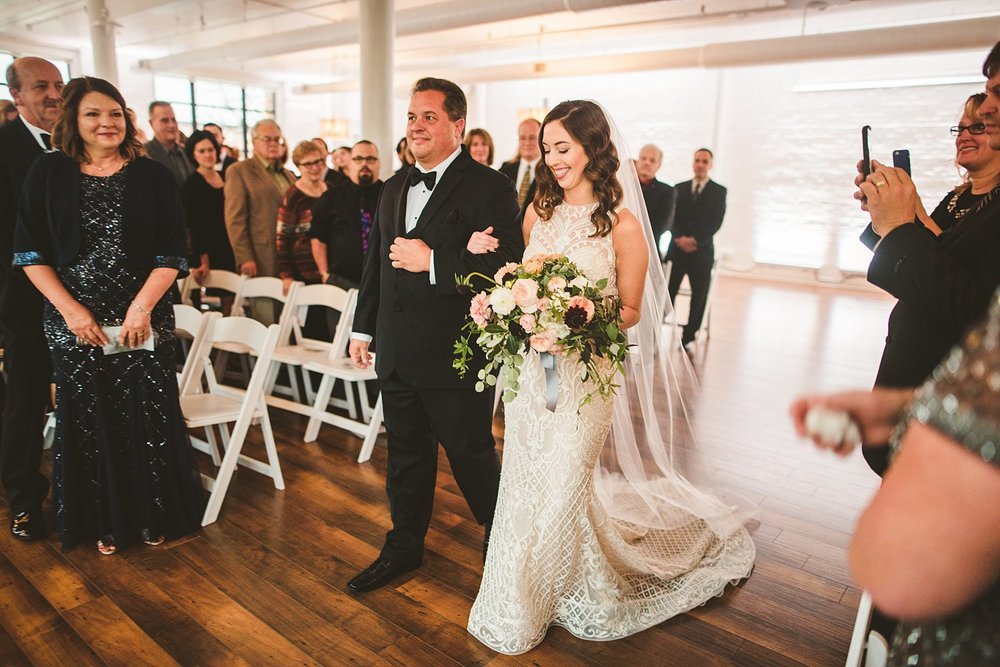 MAEGAN + DUSTIN  INDUSTRIAL STYLE WEDDING -