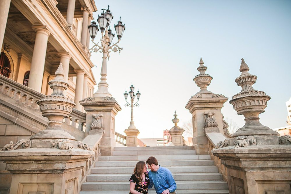 Lansing Engagement Photos - Grand Rapids, West Michigan Wedding Photographer - Jenna and Mike - 06.jpg