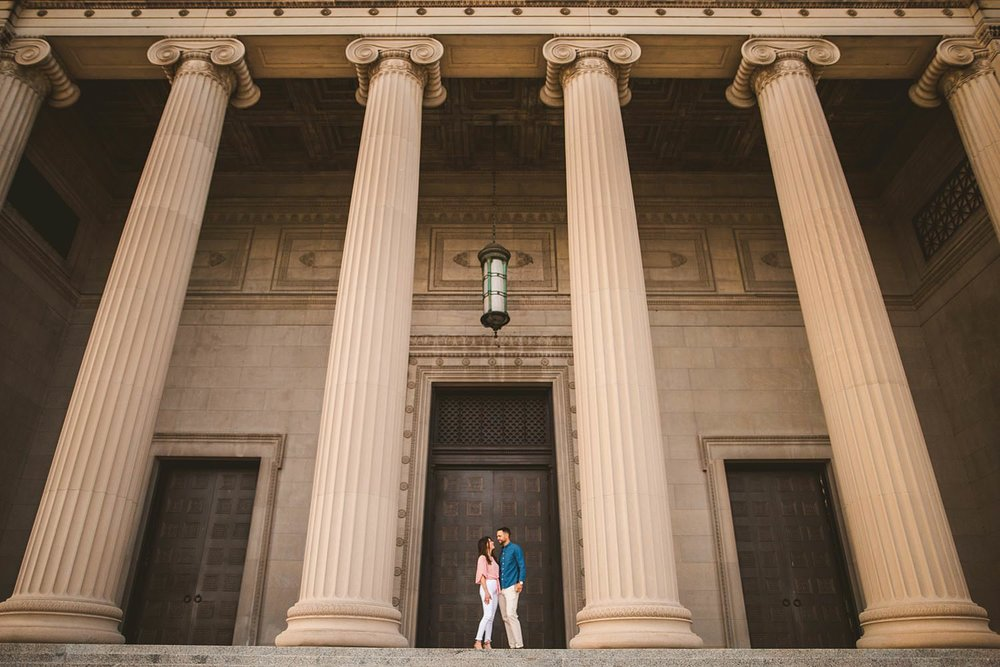 Downtown Chicago Engagement Photos - Museum of Science and Industry Session - Elizabeth and Dan -02.jpg