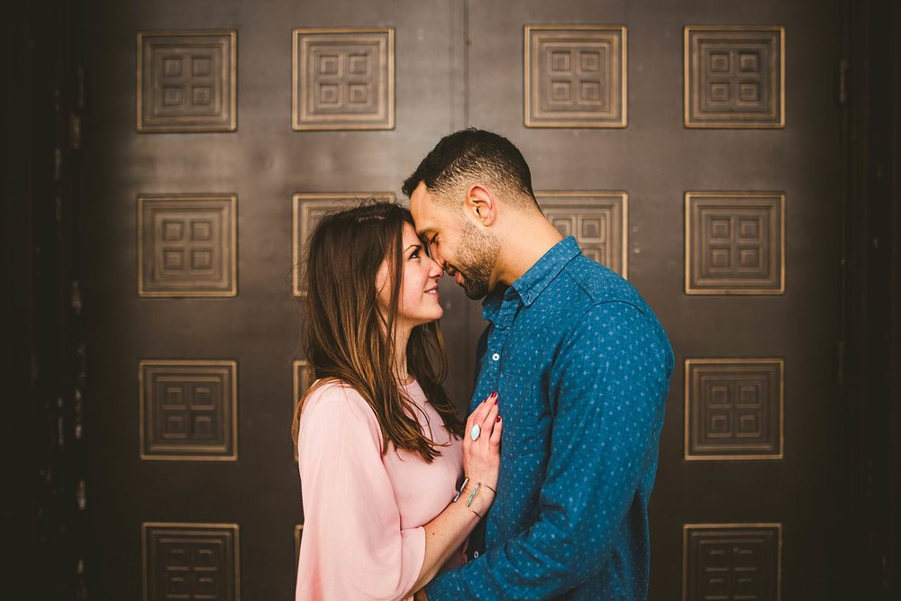 Downtown Chicago Engagement Photos - Museum of Science and Industry Session - Elizabeth and Dan -04.jpg
