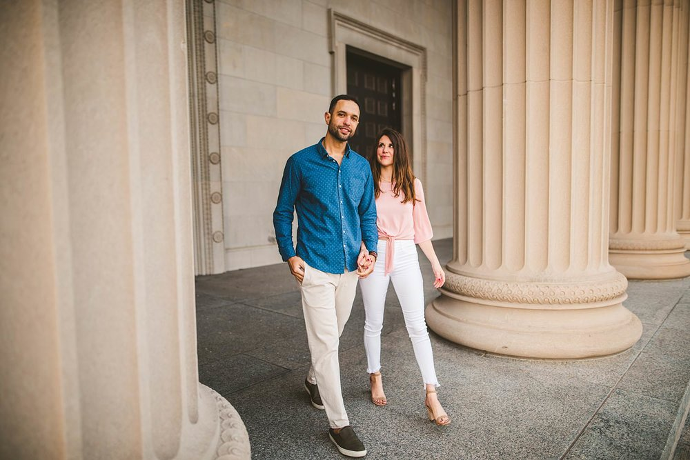 Downtown Chicago Engagement Photos - Museum of Science and Industry Session - Elizabeth and Dan -06.jpg