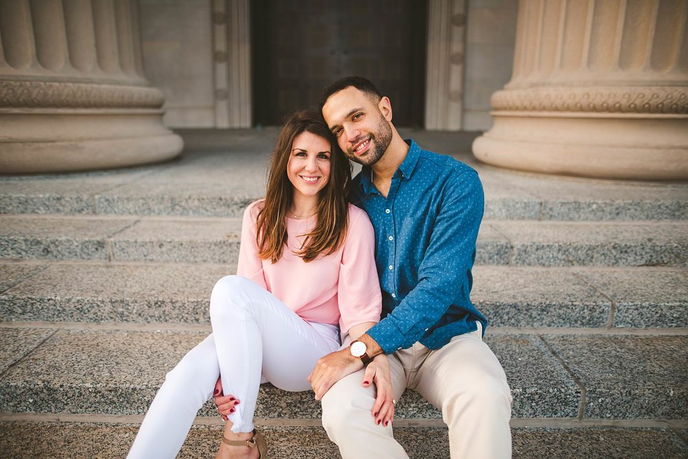 Downtown Chicago Engagement Photos - Museum of Science and Industry Session - Elizabeth and Dan -11.jpg