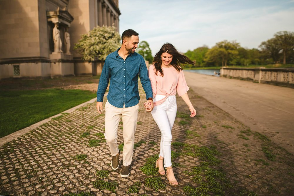 Downtown Chicago Engagement Photos - Museum of Science and Industry Session - Elizabeth and Dan -14.jpg
