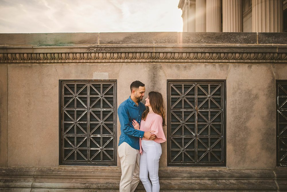 Downtown Chicago Engagement Photos - Museum of Science and Industry Session - Elizabeth and Dan -17.jpg