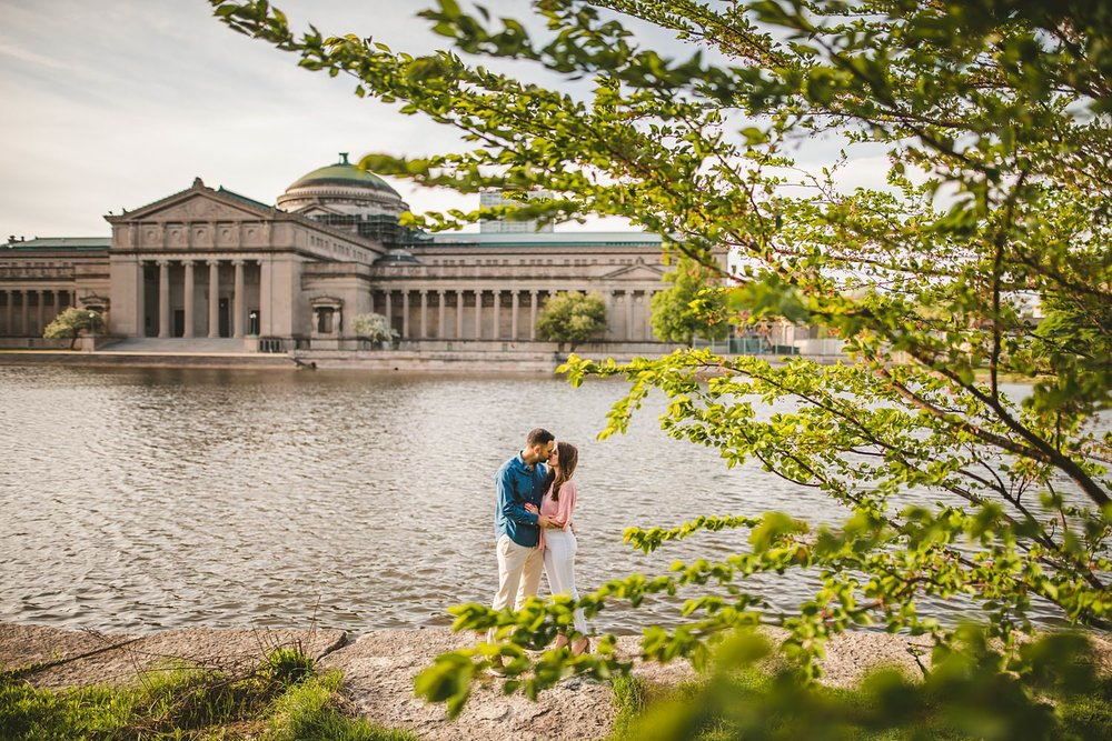 Downtown Chicago Engagement Photos - Museum of Science and Industry Session - Elizabeth and Dan -19.jpg