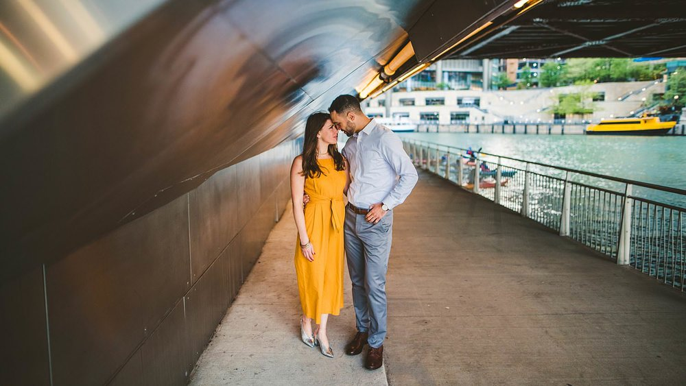 Downtown Chicago Engagement Photos - Museum of Science and Industry Session - Elizabeth and Dan -43.jpg