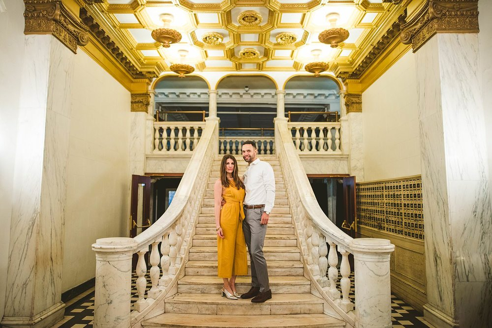 Downtown Chicago Engagement Photos - Museum of Science and Industry Session - Elizabeth and Dan -64.jpg