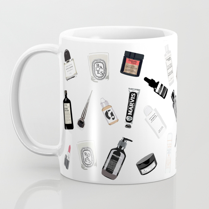 Buy the mug here :) - The Black and White Shelf Mug
