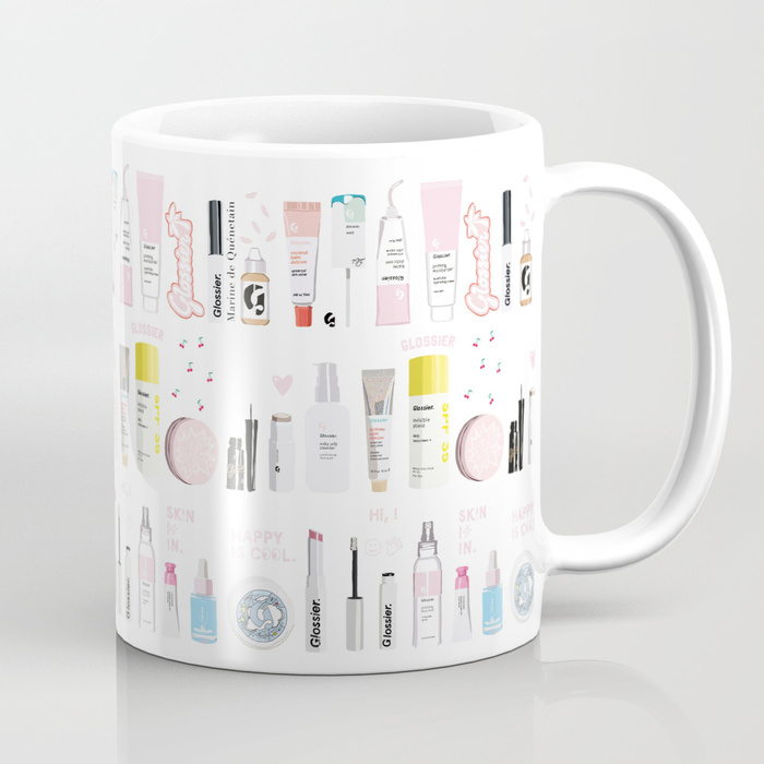 Buy the mug here - The Glossier Top Shelf Mug
