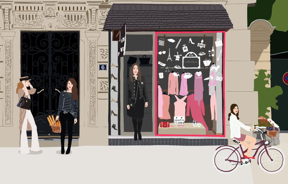 Lorette & Jasmin, Paris