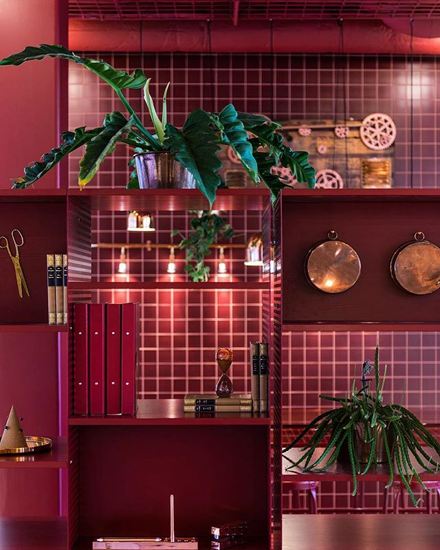 "Detail from ""the Factory"" @sparbanken_rekarne • • • • #interiordesign #conceptualdesign #styling #setdesign #flowersofinstagram #copper"
