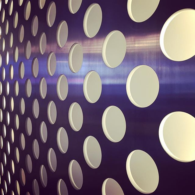 Detail from the receptionsdesk at ComHem #cocoformstudio #cocoform #inspiration #interiordesign #pattern
