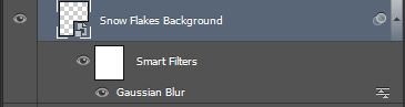"Double click on ""Gaussian Blur"" to get back to the effect panel for further adjustments"