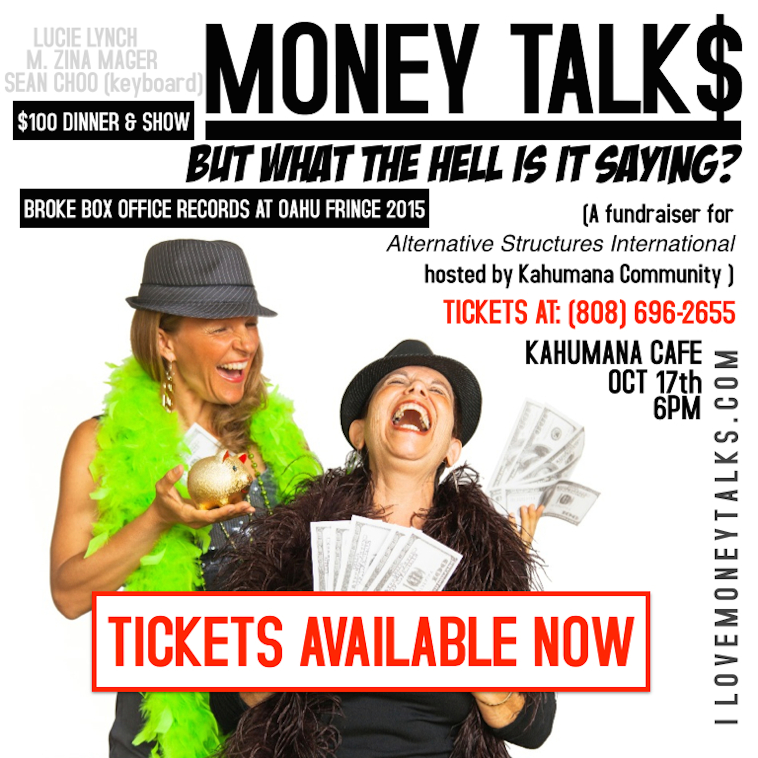 Events MONEY TALKS