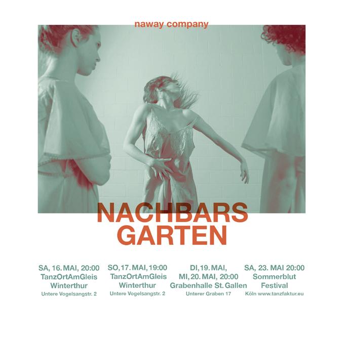 Flyer NaWay dance company